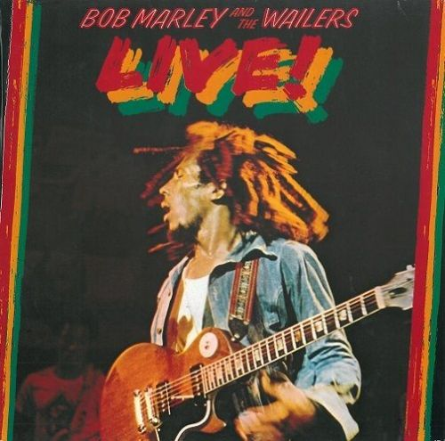 BOB MARLEY AND THE WAILERS Live Vinyl Record LP German Island